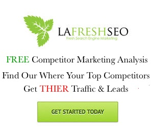 Free Competitor Marketing Analysis